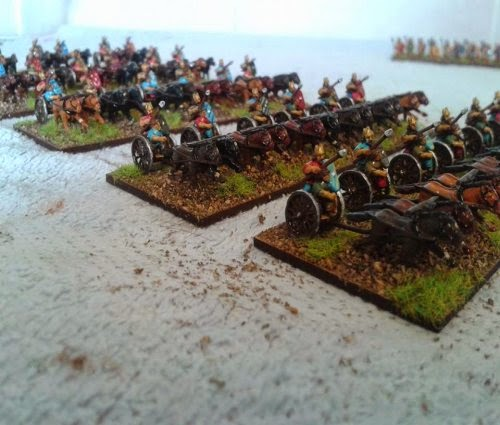 My British chariots are now completed picture 2