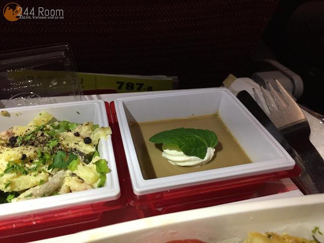 JALJL752機内食(朝食) Jal in-flight meal4