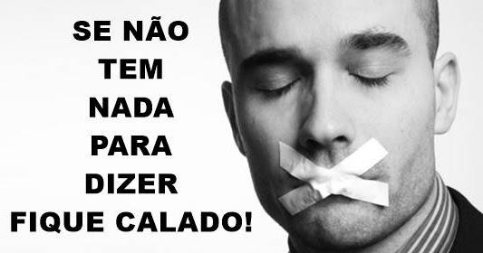 PÃO DIÁRIO - ATÉ O TOLO QUANDO SE CALA É TIDO COMO SÁBIO!