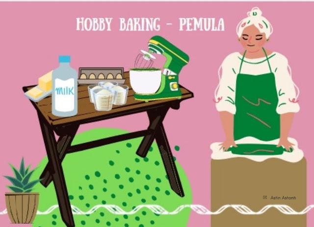 suka duka hobby baking untuk pemula
