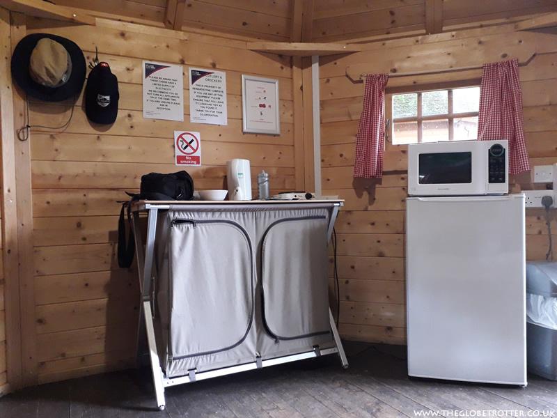 Woodland Cabin at Lee Valley Campsite in Sewardstone