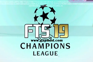Download FTS 19 UEFA Champions League Update 2018 Apk Data Obb