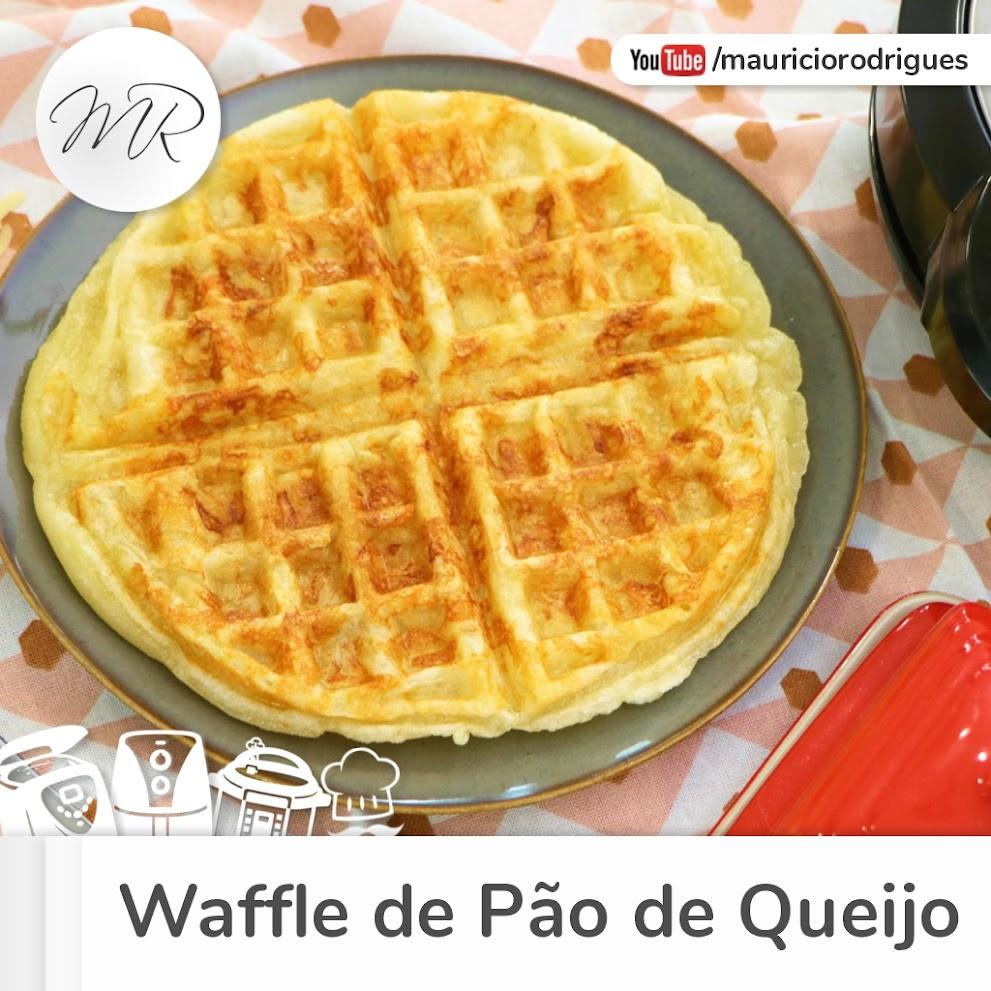 VÍDEO - Waffle de Pão de Queijo