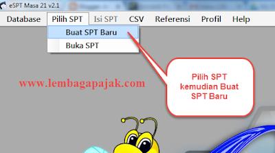 Cara Membuat Laporan Bulanan SPT PPh 21 Dengan e-SPT PPh 21