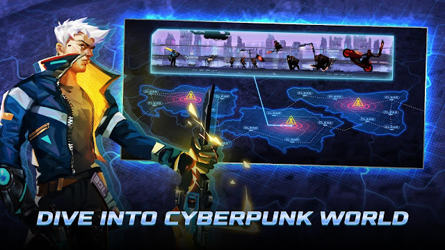 Download Cyber Fighters Mod Apk