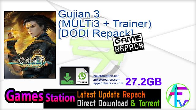 Gujian 3 (MULTi3 + Trainer) – [DODI Repack]