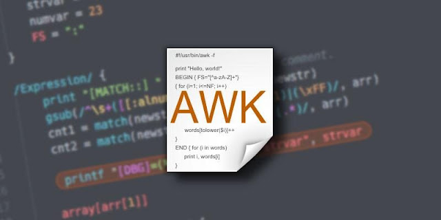 Unix Awk Command