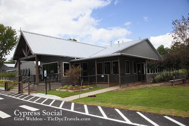 Cypress Social entrance