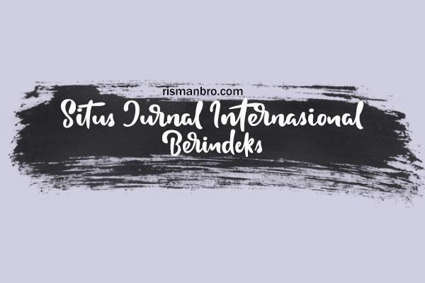 Situs Jurnal Internasional Berindeks