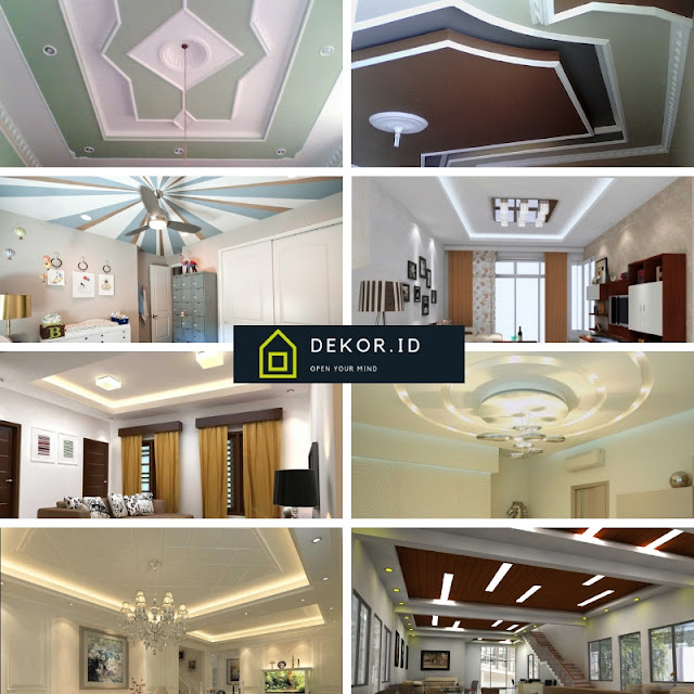 Dekorasi atap rumah minimalis