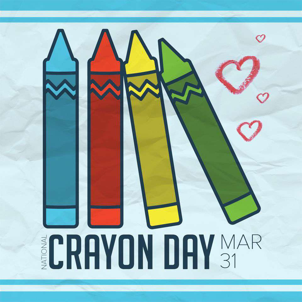 National Crayon Day Wishes Lovely Pics