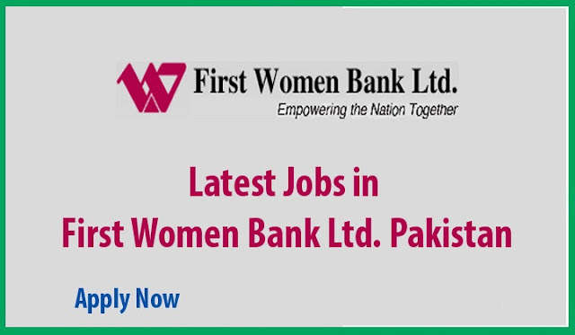 First Women Bank Jobs