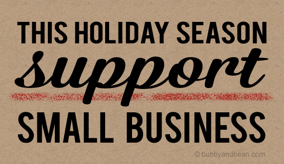 Support Small Businesses this Holiday Season!