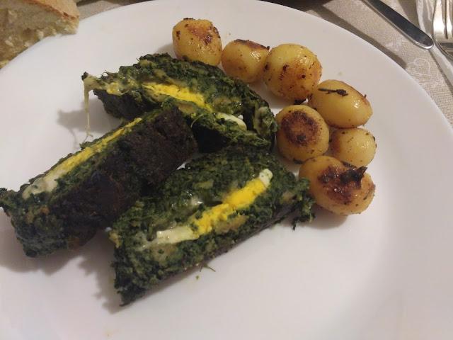 polpettone agli spinaci