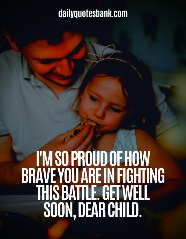 Best Words Of Encouragement For A Child With Cancer