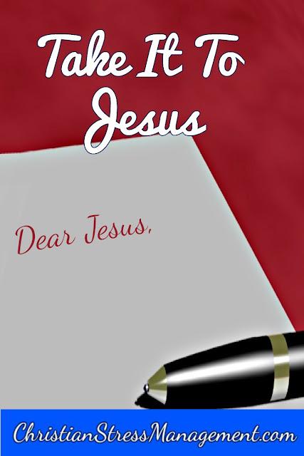 Take it to Jesus