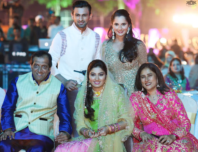 Anam Mirza Sangeet Ceremony Photos