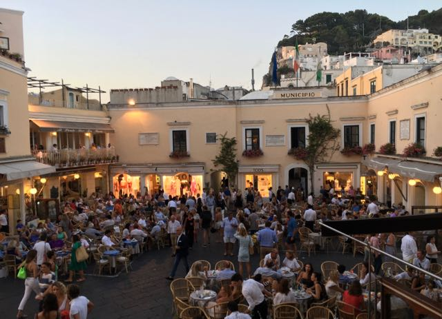 Italian Trip Planning Capri