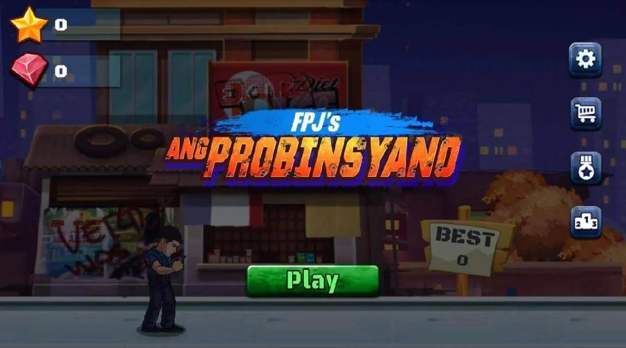"""""""FPJ's Ang Probinsyano"""" Mobile Game"""
