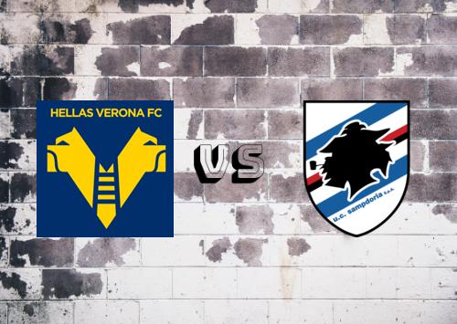 Hellas Verona vs Sampdoria  Resumen