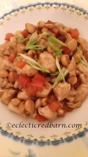 Kung Pao Chicken. Share NOW. #chinese #maindish #dinner #easyrecipe #eclecticredbarn