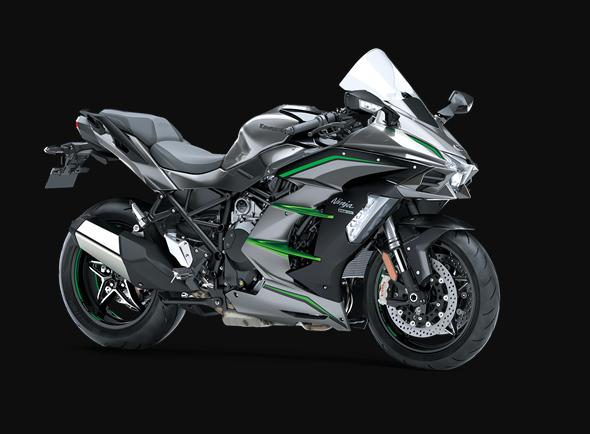 2019 Kawasaki NINJA H2™ SX SE+ Front View