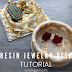 How to Make Resin Jewelry Dishes with Faux Gold Leaf Flakes