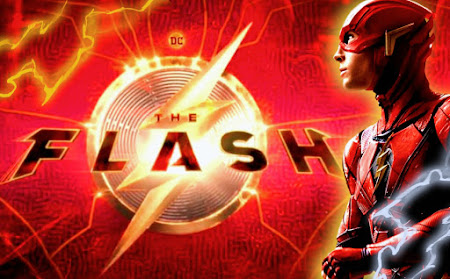 Ezra Miller The Flash Official Logo Release as filming onsets