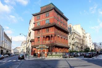 Paris : Maison Loo, une pagode chinoise au coeur du quartier haussmannien de la plaine Monceau - VIIIème