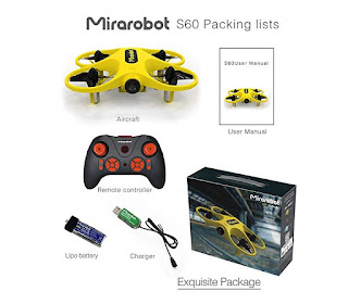 Spesifikasi Drone Mirarobot S60 - OmahDrones