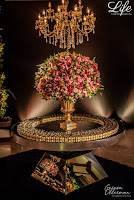 festa de casamento no salão praça dos fundadores do grêmio náutico união em porto alegre com decoração luxuosa sofisticada e elegante em tons de preto dourado e rosa por life eventos especiais