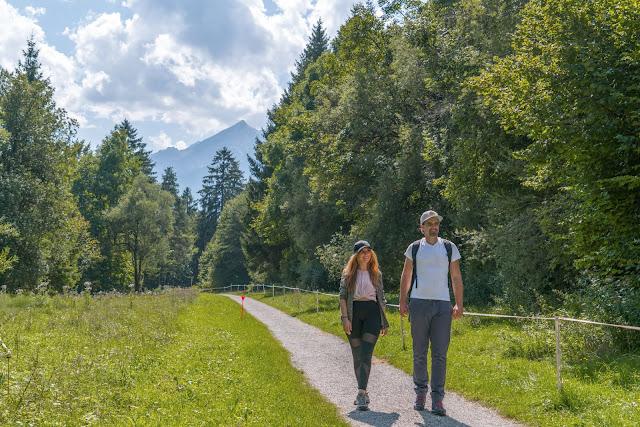 Entdeckungstouren Wasser Loisach - Kramerplateauweg - Ruine Werdenfels – Burgrain05