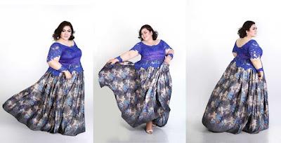 Model Baju Kebaya Untuk Orang Gemuk Terbaru 2016