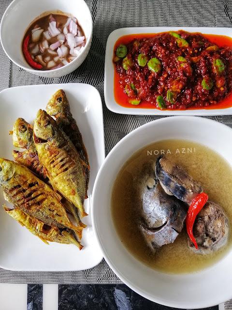 Resepi Singgang Ikan Tongkol Mudah dan Sedap