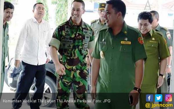 29 Perwira TNI Dirotasi, Andika Perkasa Jabat Pangkostrad