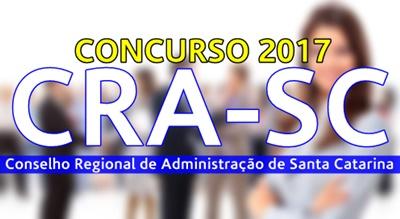 Concurso CRA-SC 2017