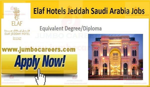 Recent Jobs in Saudi Arabia,
