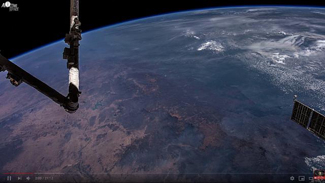 taroudant press : عرض Earth 8K: الأرض من الفضاء كما لم تشاهدها من قبل من قبل فيديو مذهل بدقة 8K