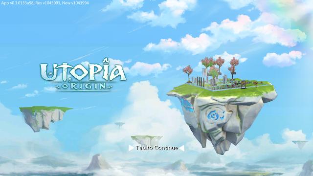 Berapa Kira-kira Total Size Game Utopia: Origin Play In Your Way