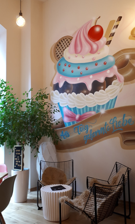 Cupcake Kitchen im Posthof, Trier | Happy in Red