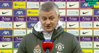 'It's only a good result if we win the next game':  Solskjaer react Man Utd draw with Liverpool