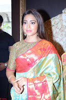 Shriya Saran Looks Stunning in Silk Saree at VRK Silk Showroom Launch Secundrabad ~  Exclusive 133.JPG