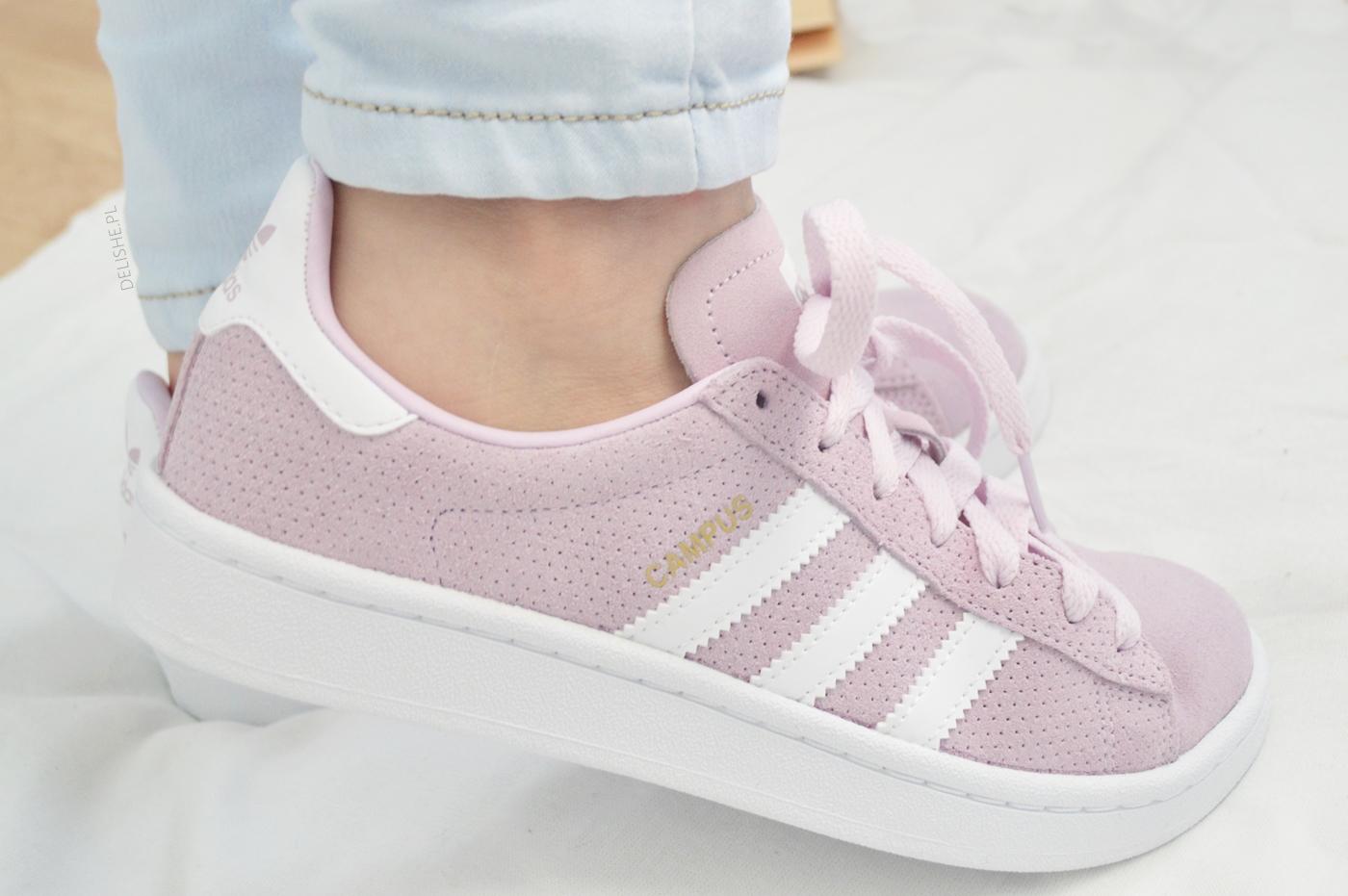 adidas campus pink footway