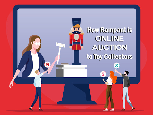 Online Auction to Toy Collectors
