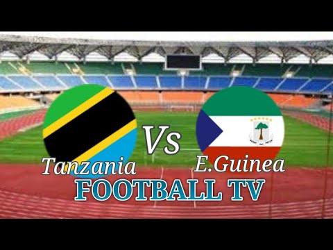 Equatorial Guinea vs Tanzania Live;