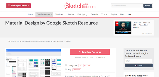 3 Situs Penyedia Ilustrasi Gratis - Sketch App Sources