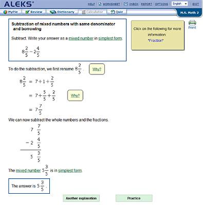 Aleks Math
