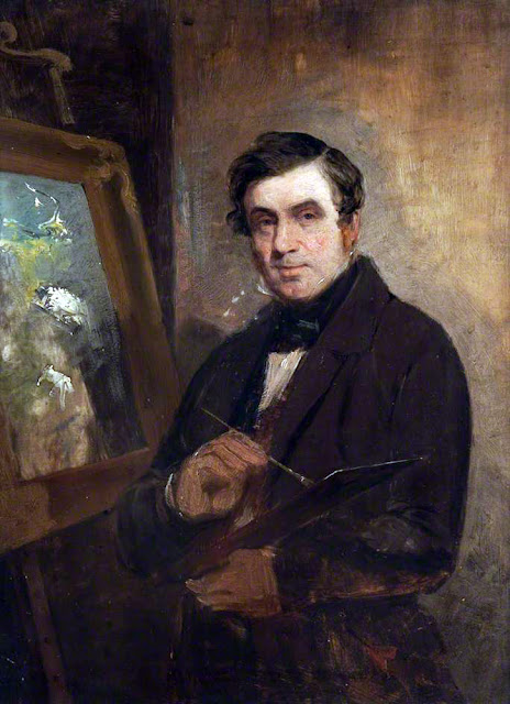 John Thomson, Self Portrait, Portraits of Painters, Fine arts, Portraits of painters blog, Paintings of John Thomson, Painter John Thomson