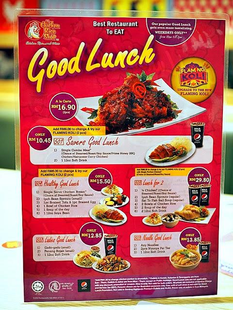 TCRS Good Lunch Set With Flaming Koli Promotion